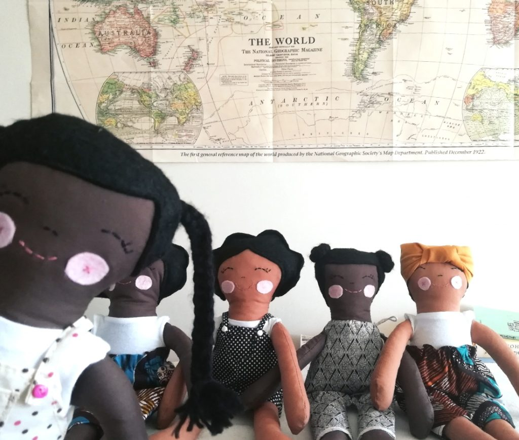 Meet the range of brown girl dolls