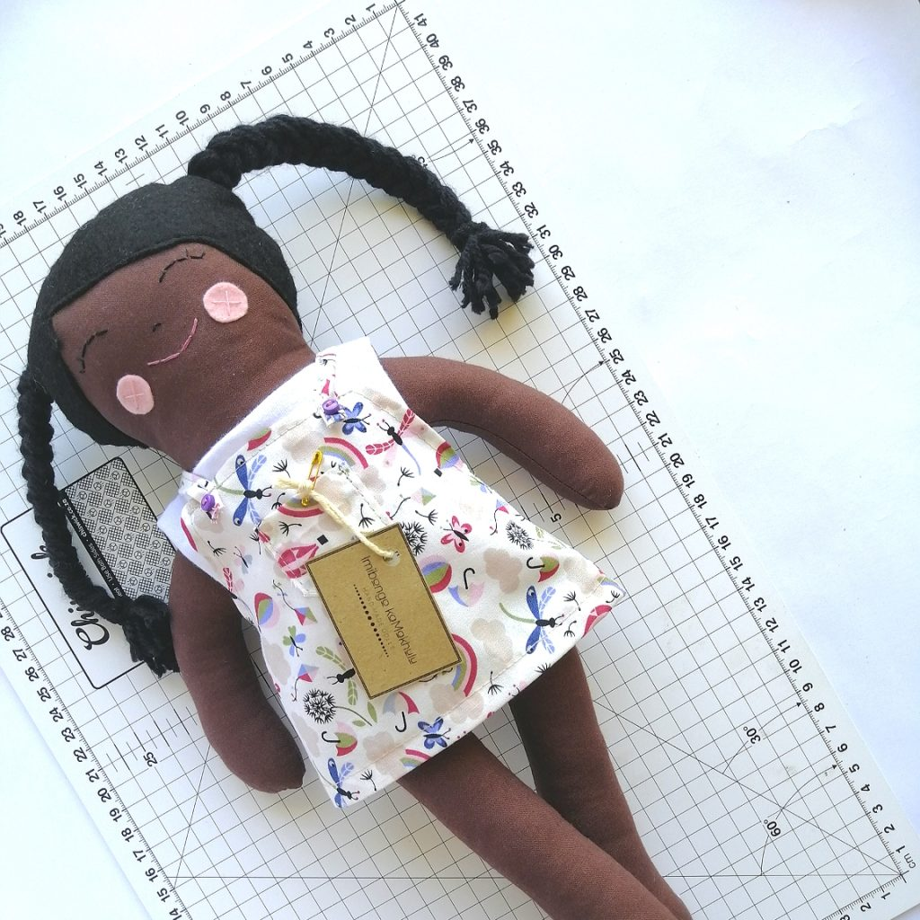 Handmade Brown doll