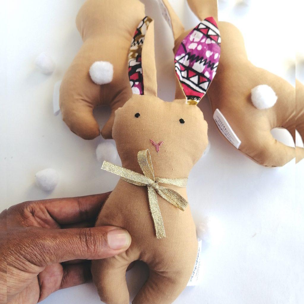 ankara bunny rattle