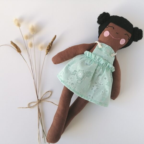diverse brown dolls for diversity during play
