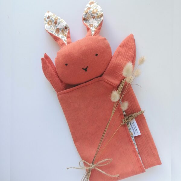 handmade bunny lovies