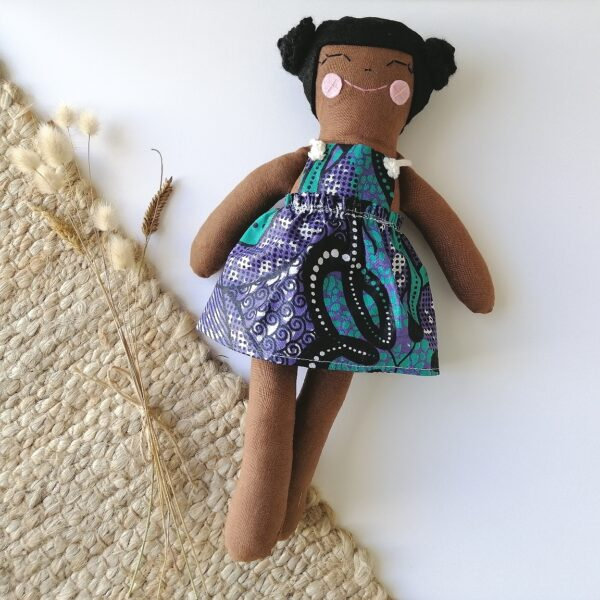 black and brown dolls that embody self love and inclusivity