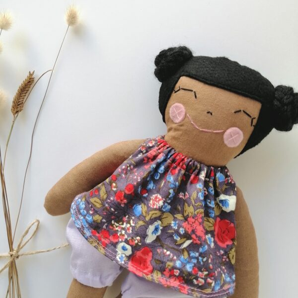 black and brown dolls for diversity during indoor play