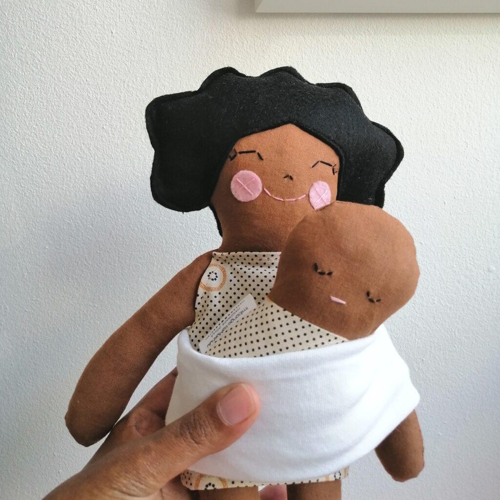 brown heirloom dolls